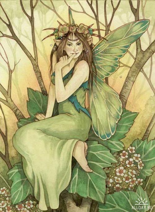Green Fairy ~ Linda Ravenscroft
