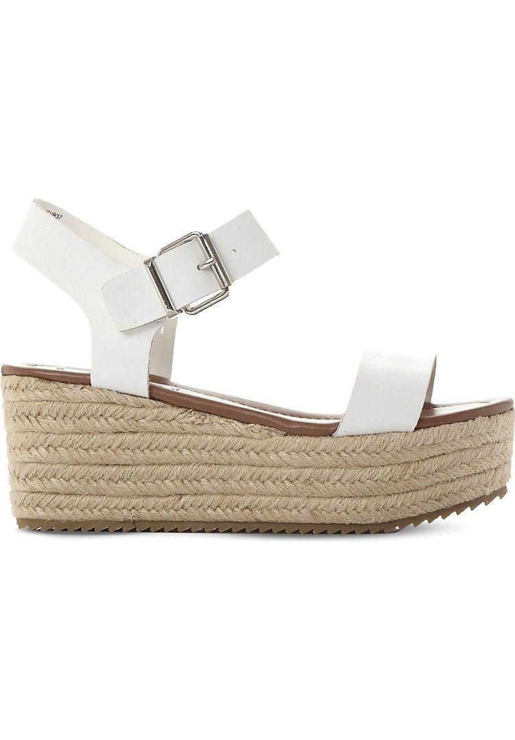 d42558d12d4 STEVE MADDEN - Surfa espadrilles leather platform sandals ...