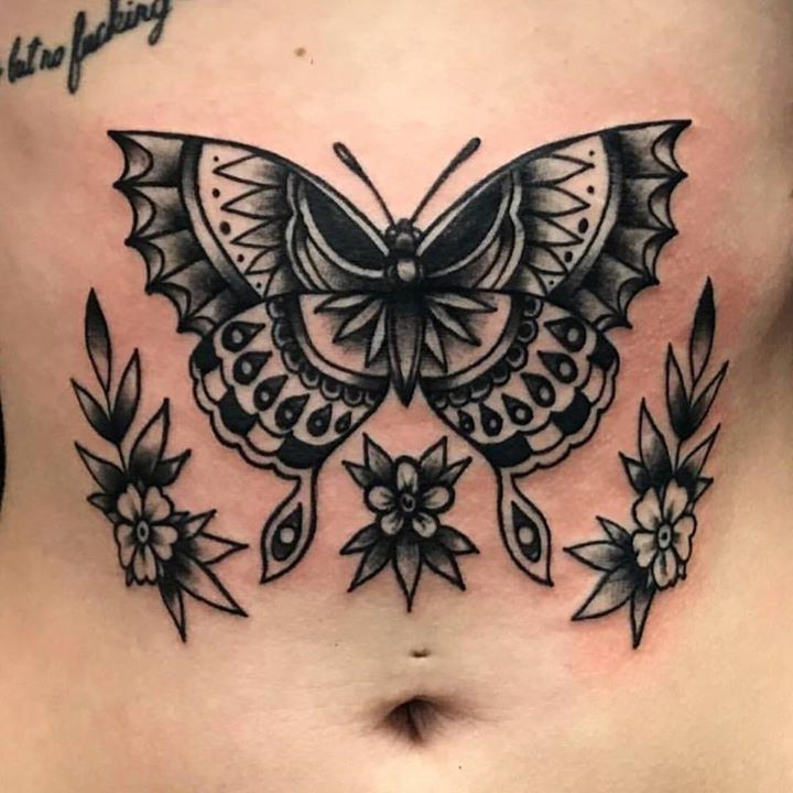 traditional tattoo by atw380 from velvet grip family tattoo