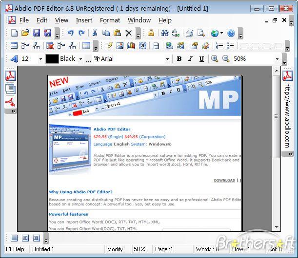 Скачать pdf editor 8