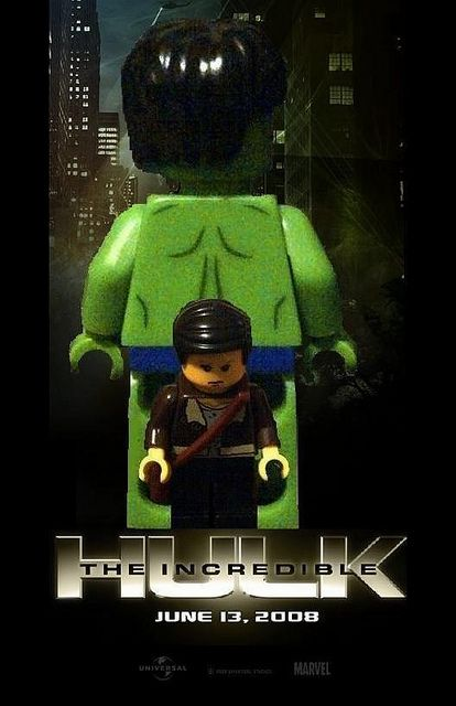 Lego The Incredible Hulk Poster Lego Poster Hulk Poster Lego Film