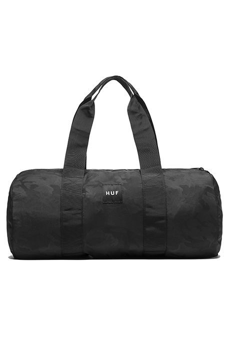 HUF Duffle Packable Black