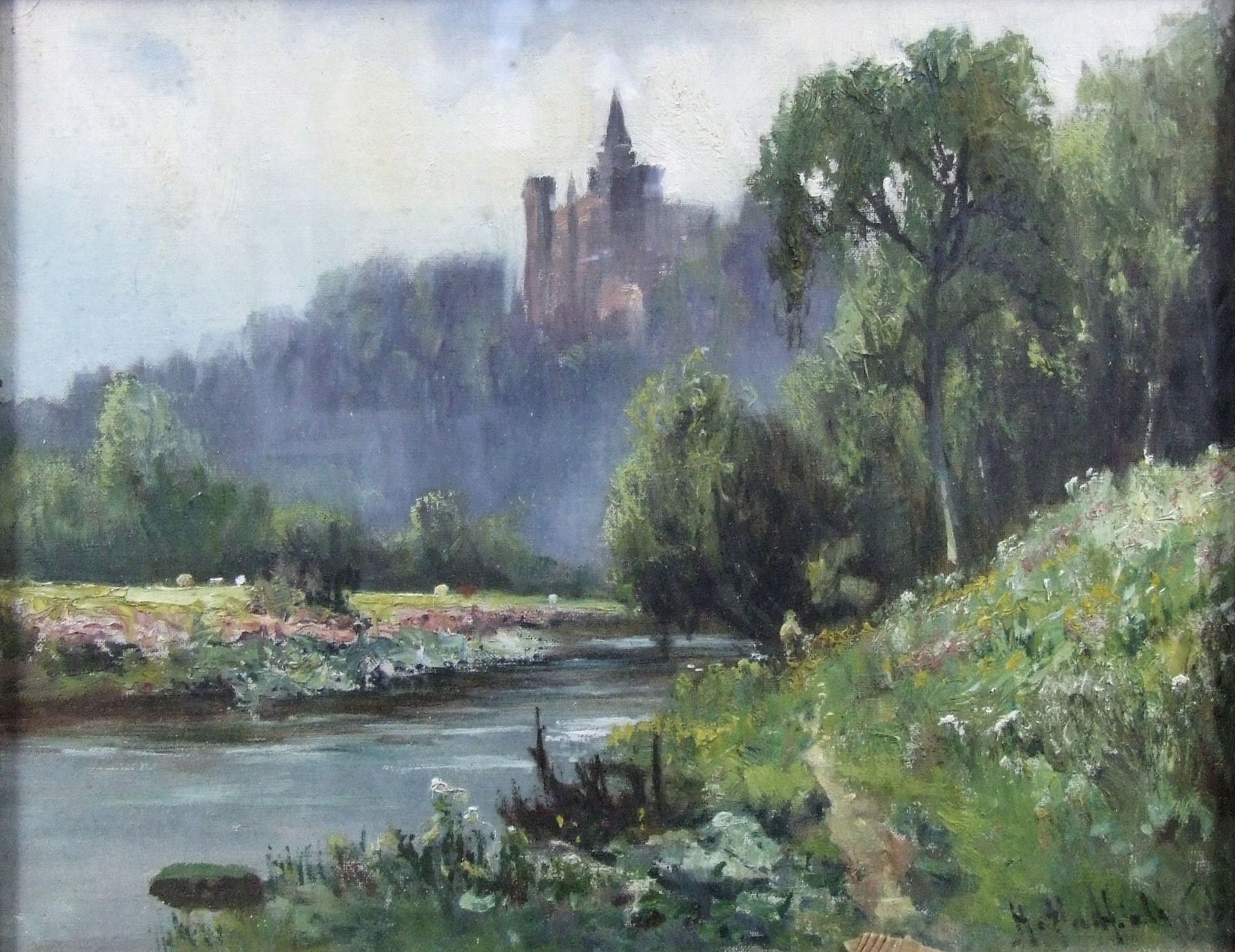 castle painting - Google Search