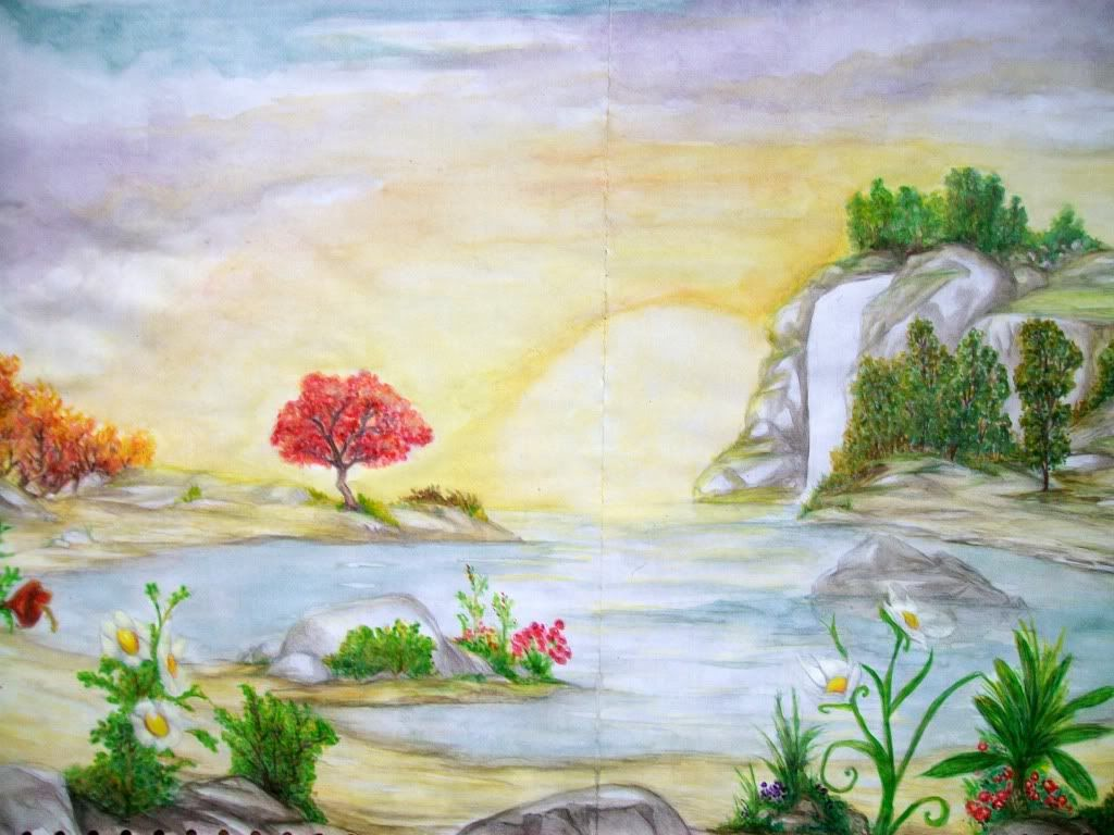 Paisajes Para Dibujar A Color Faciles: Dibujos De Paisajes. Latest Paisajes En Leo De Costa Rica