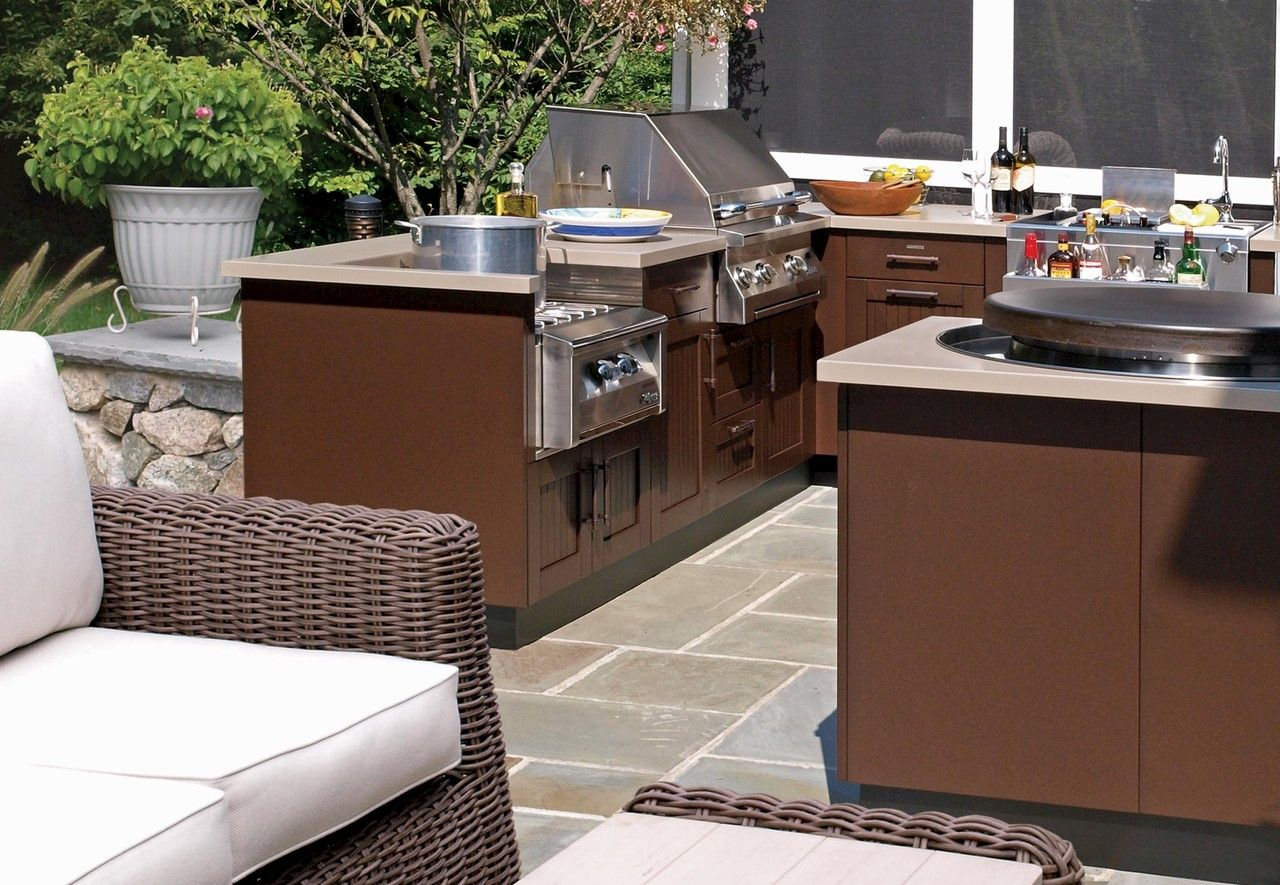 Brown Jordan Outdoor Kitchens Collection