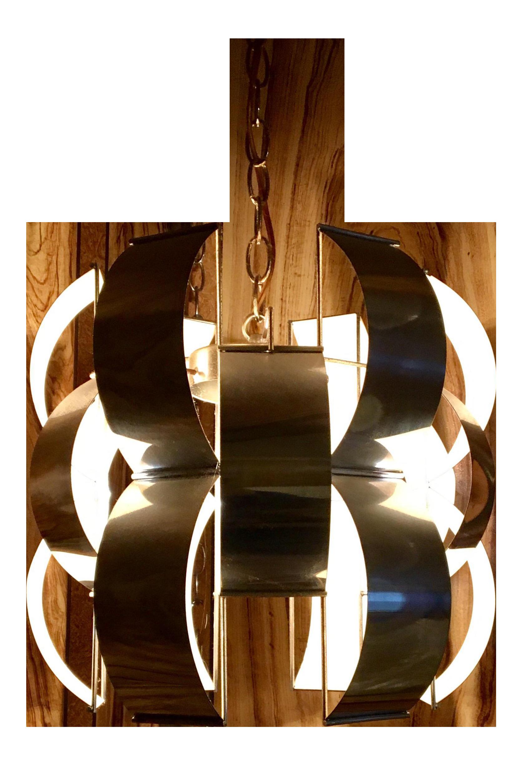 Modern Italian Light Fixture On Chairish Com Italian Lighting