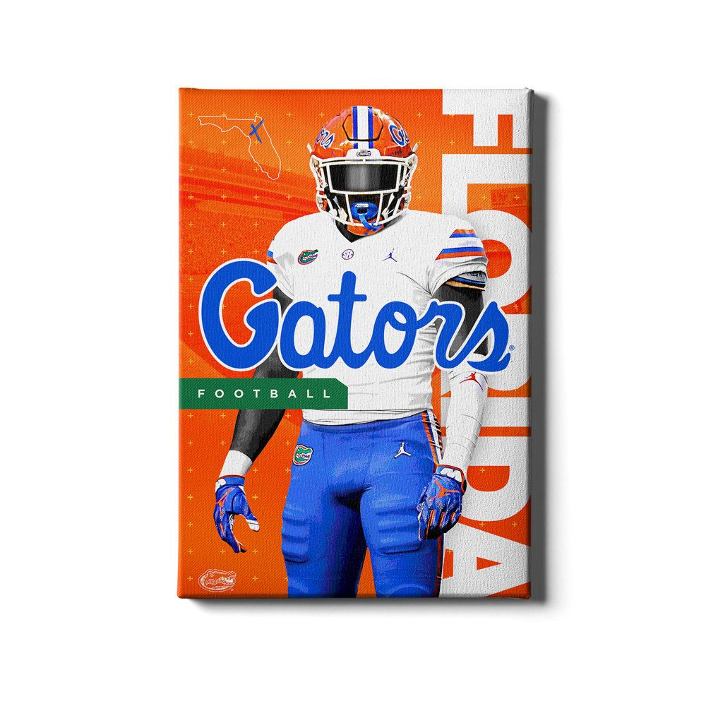 Florida Gators Bring It Gator Football The Swamp Etsy In 2020 College Wall Art Wood Art Design Hanging Canvas