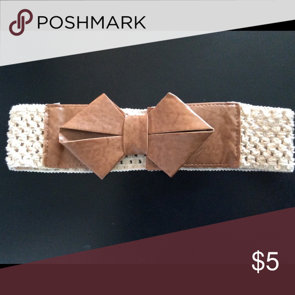 Cute Bow Belt Waist belt-perfect with any dress! Accessories Belts