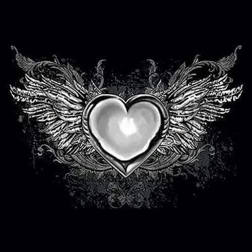 Pin by Julie Purcell on Hearts with wings | Wizard tattoo ...