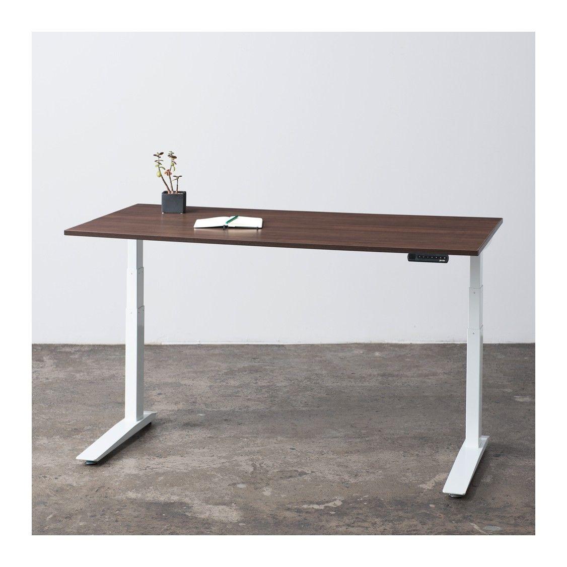 Jarvis Standing Desk   GREENGUARD Laminate (walnut)   Fully