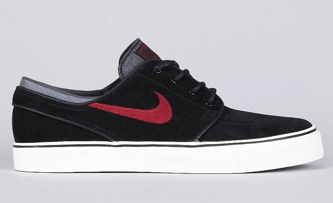 Nike SB Zoom Stefan Janoski | Black & Team Red - EU Kicks: Sneaker  Magazine. Red SoNike SkateboardingExpensive ShoesStefan ...