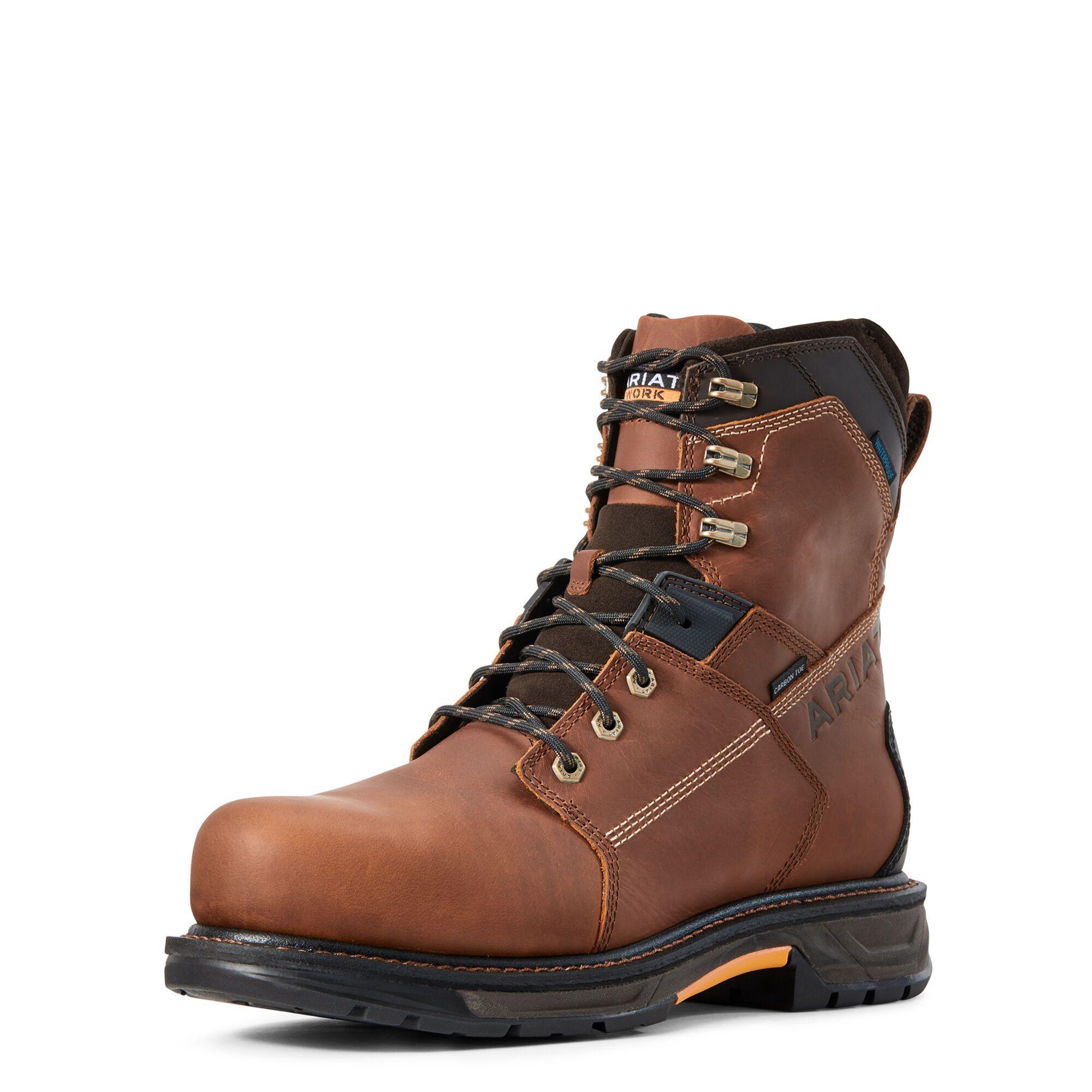 "WorkHog XT 8"" Waterproof Carbon Toe Work Boot Boots"