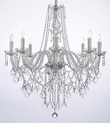 Crystal Chandelier Lighting 33ht X 28wd 8 Lights Fixture Pendant Ceiling Lamp Free Shipping JAC D'LIGHTS http://www.amazon.com/dp/B00LB3QRJI/ref=cm_sw_r_pi_dp_INaSub10J6KMZ