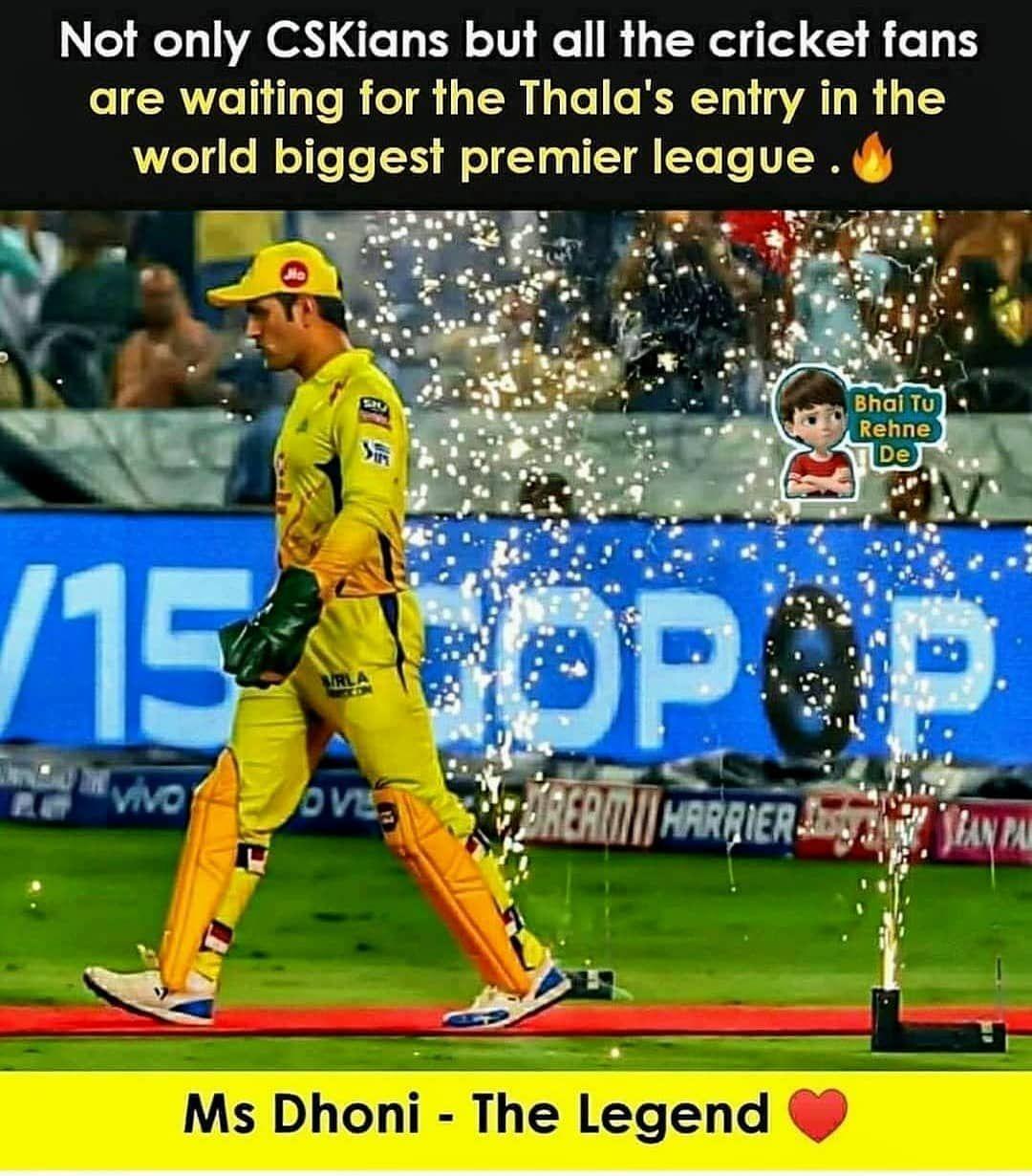 642 Likes 13 Comments Csk Fan Club 2020 Cskipl 2020 On Instagram 19 September Sportsmanship Chennai Super Kings Cricket Team
