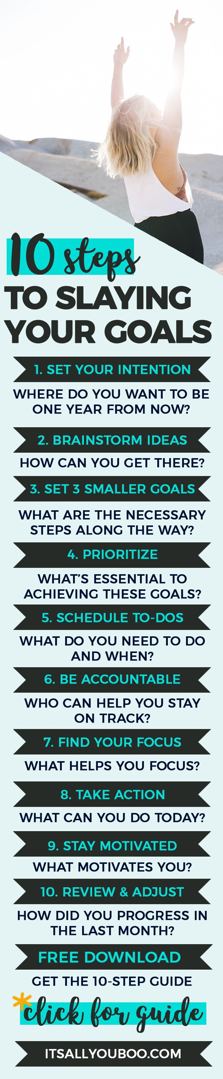 10 steps how to use stress to increase your productivity motivate - How Do I Slay My Goals