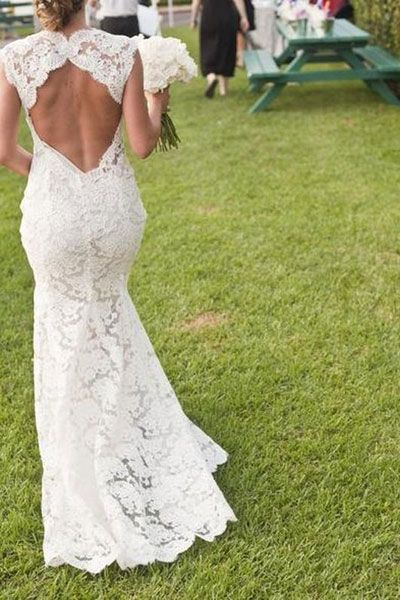Espalda al aire. #vestido #novia