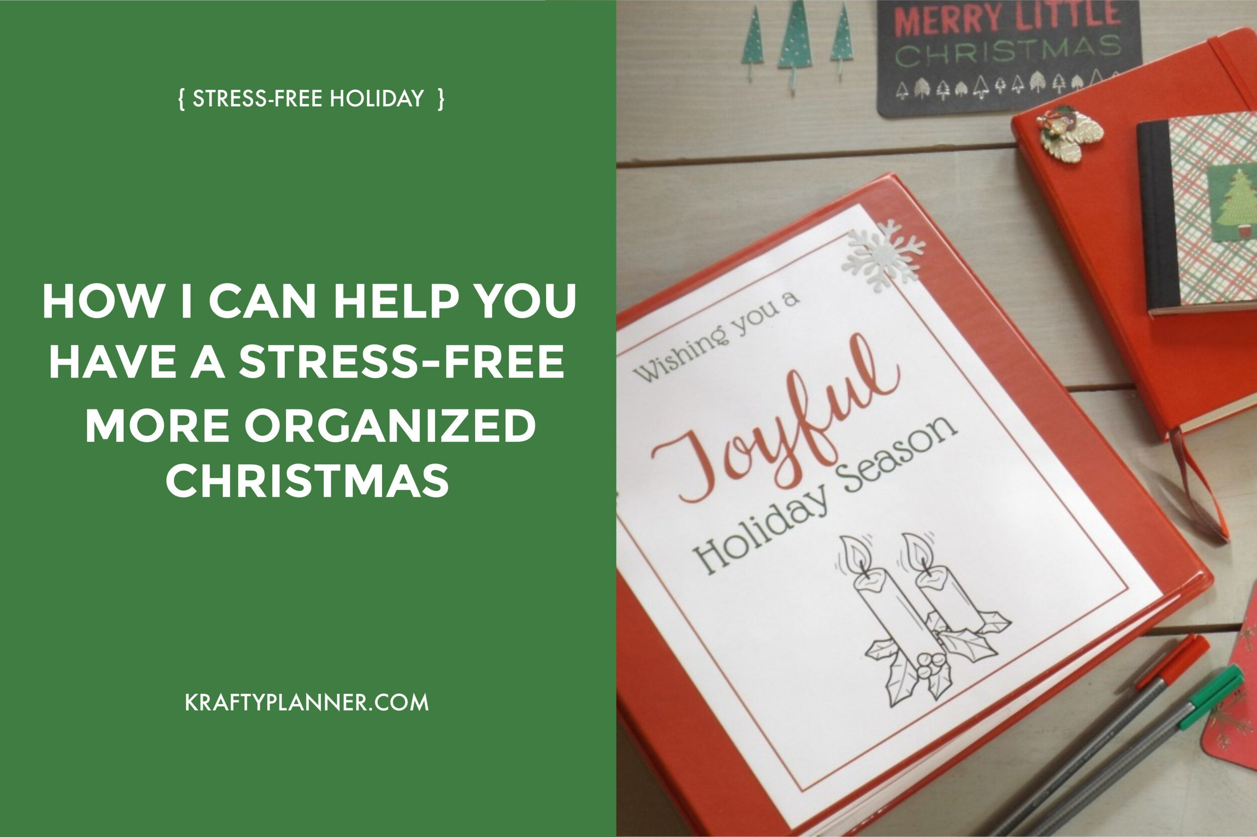 How I Can Help You Have A Stress Free And More Organized