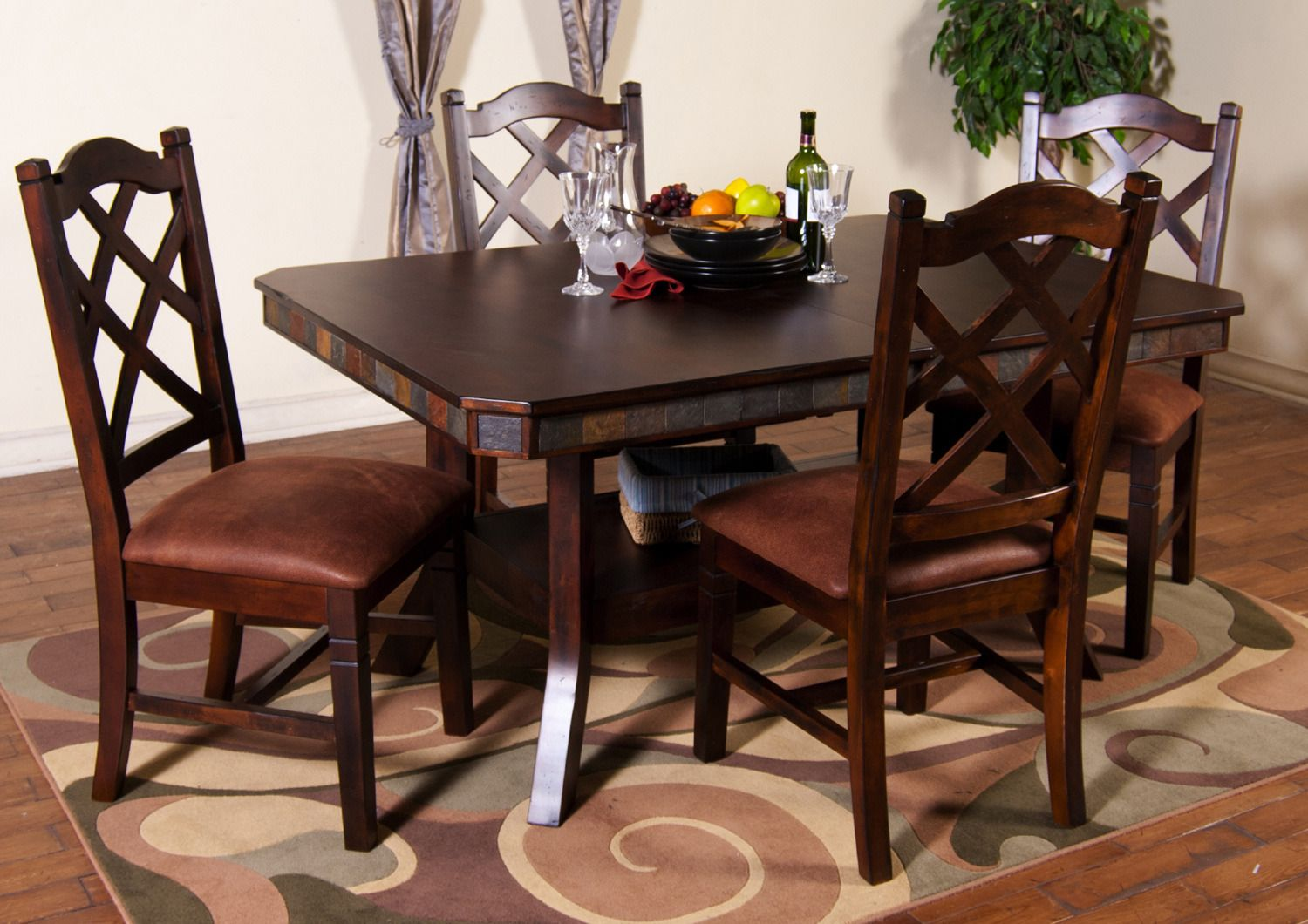 Dining Room Extension Table Amazing Santa Fe Rectangular Extension Table Dining Room Set  Sunny 2018