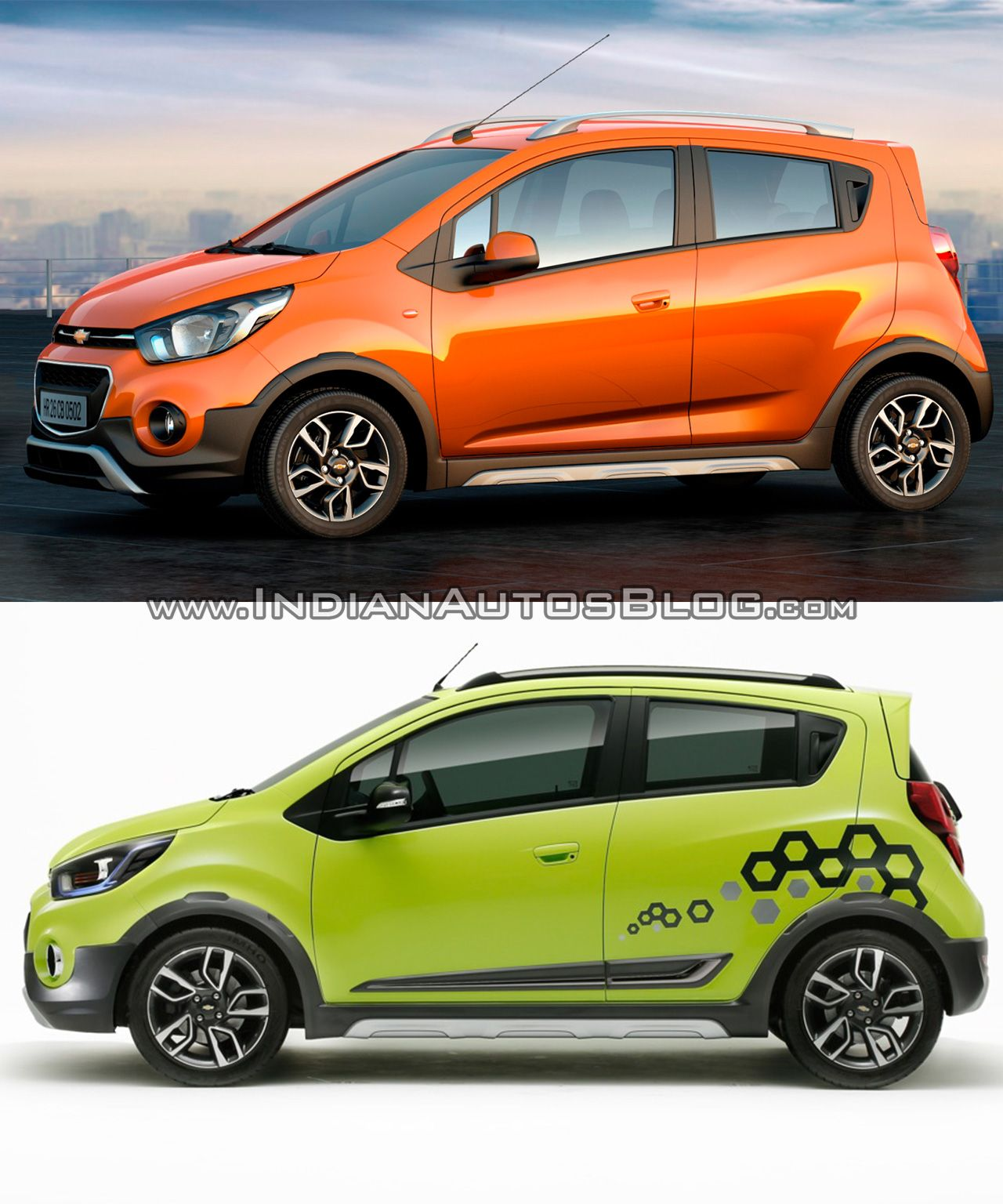 Chevrolet Beat Activ Concept Vs Reality Chevrolet Concept Beats