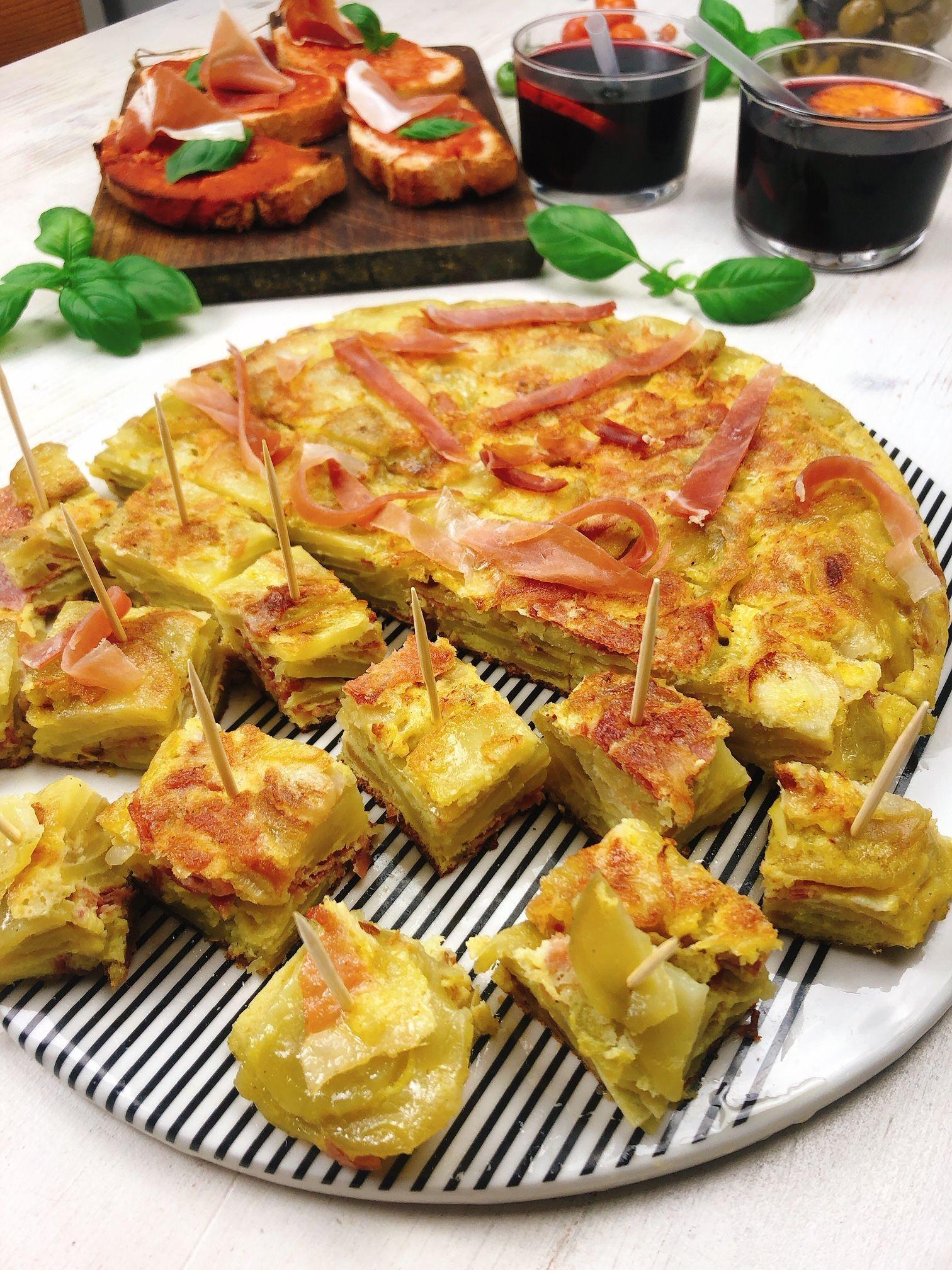 Tortilla Espagnole Au Jambon Consorcio Serrano Au Consorcio Espagnole Jambon En 2020 Tortilla Espagnole Recette Tortilla Espagnole Recettes De Cuisine Espagnole