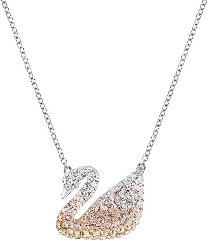 0605a0d1de73 Swarovski Iconic Pastel Crystal Swan Necklace 5215034