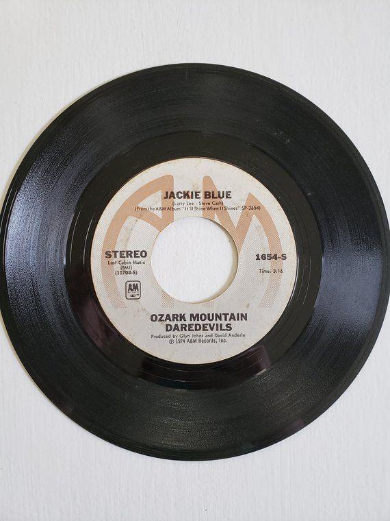 Ozark Mountain Daredevils Vintage 45 Rpm Record Jackie Blue