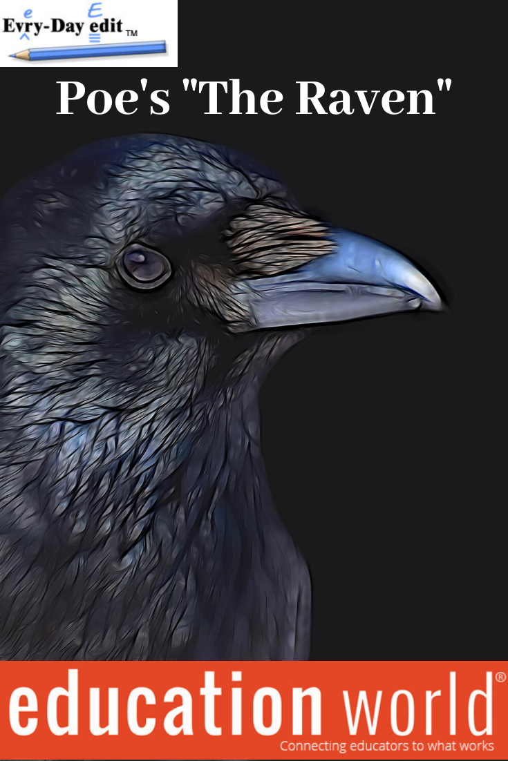 Pin On Every Day Edits The Raven Poem Context