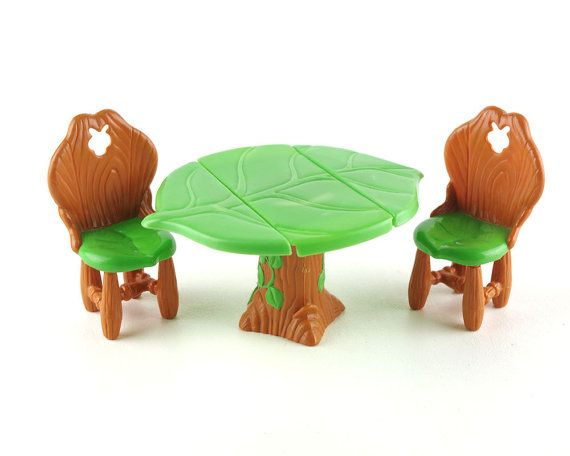 Strawberry Shortcake Table Chairs Set Vintage 1980s Berry Happy