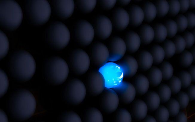 3d Blue Ball Vs Black Balls Hd Wallpaper Black Hd Wallpaper Black And Blue Wallpaper Hd Wallpaper Cool black blue wallpaper