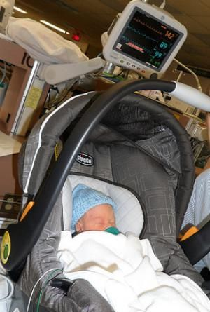Most Preemies Must Pass A Car Seat Test Before Discharge