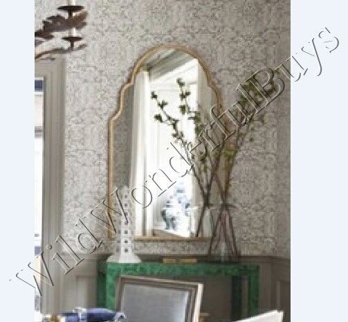 Details About Arched Wall Mirror Silver Champagne 30H