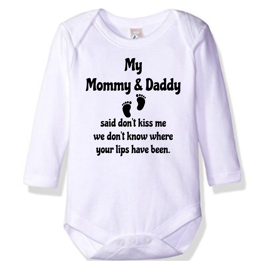 36c85badb9f49 Mommy & Daddy Said Don't Kiss Me | Inspiring Ideas | Baby, Mom, baby ...