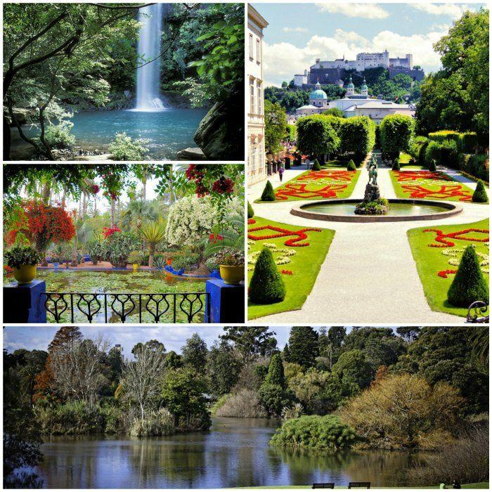 schöne gärten bilder gartenideen garten gestalten - garten gestalten mit pool