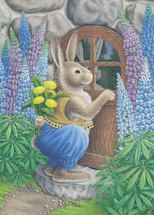 Courting Rabbit by Beth Foster Wiggins