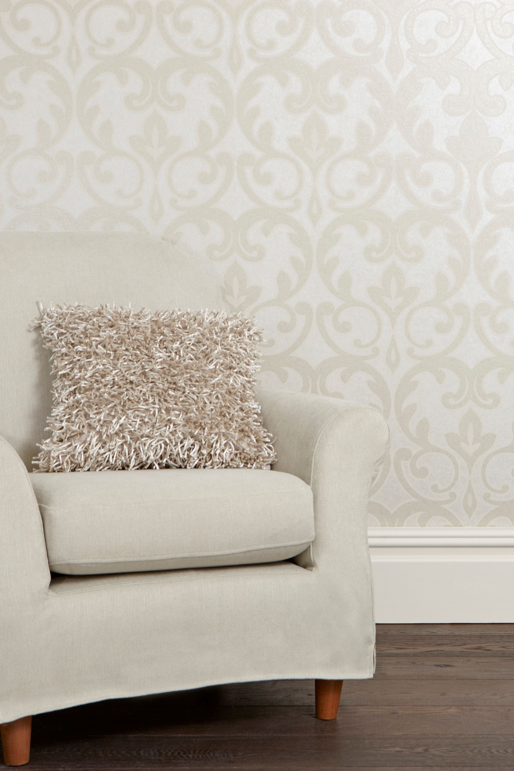 Salon damask wallpaper from Next online 25 a roll though Home