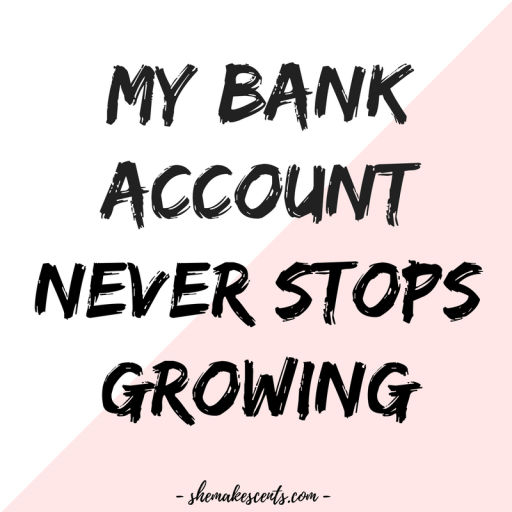 money affirmations – shemakescents