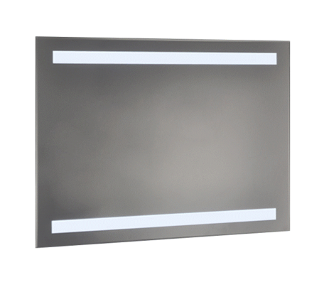 Ablaze contractor back lit mirror 900 x 750 x 35mm for Mirror 750 x 900