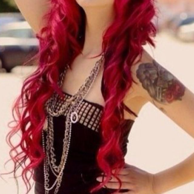 Long Red Tresses