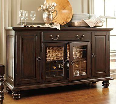 Ideas para decorar el mueble de buffet de tu comedor hola for Buffet mueble