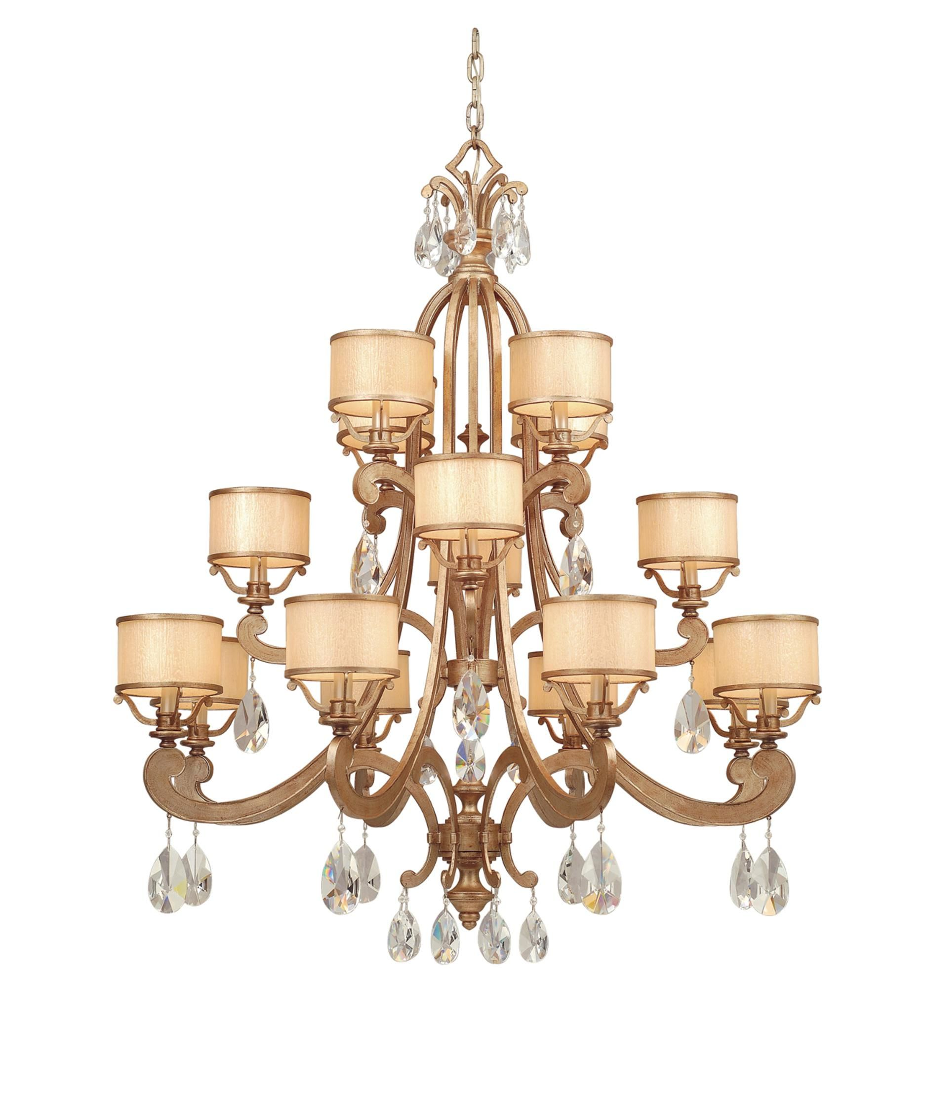 Corbett lighting roma 43 inch wide 16 light chandelier hampton bay corbett lighting ro 016 roma 43 inch chandelier aloadofball Gallery