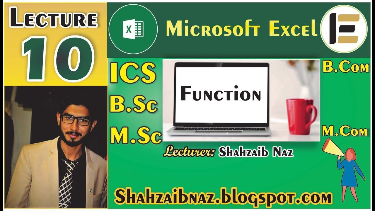 Microsoft Excel Formula and Function Tutorial in Hindi