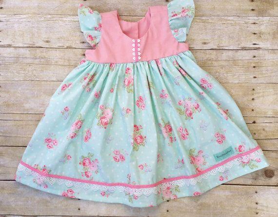 Toddler Easter spring Dress Girls Tea Party by BestDressEver