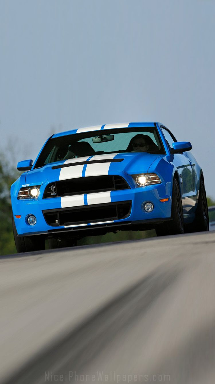 Ford mustang shelby gt500 2013 iphone 6 6 plus wallpaper