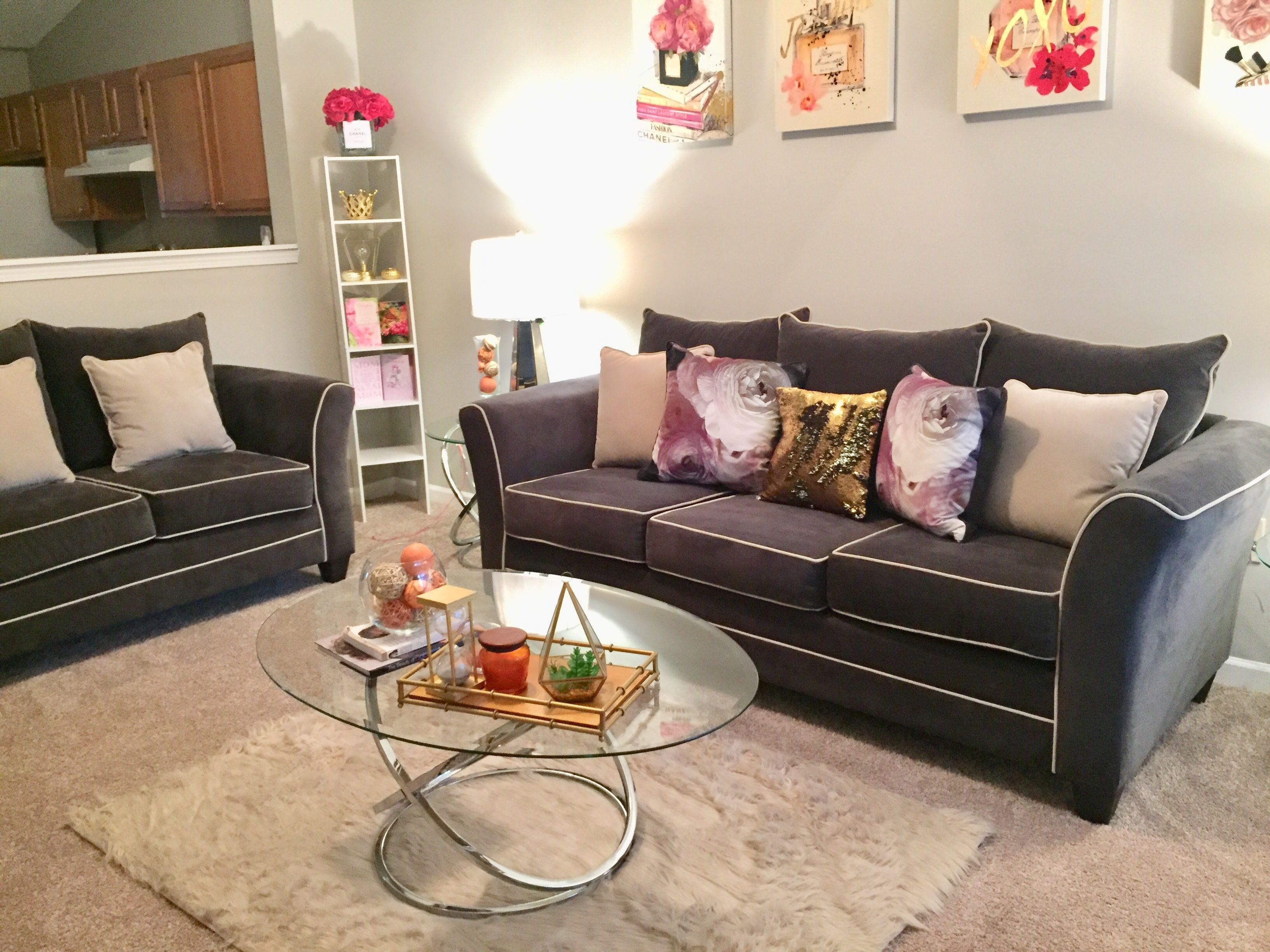 Girly Living Room Grey Couch Ideas Gray Couch Ideas Grey Couch Living Room Girly Living Room Living Room Grey