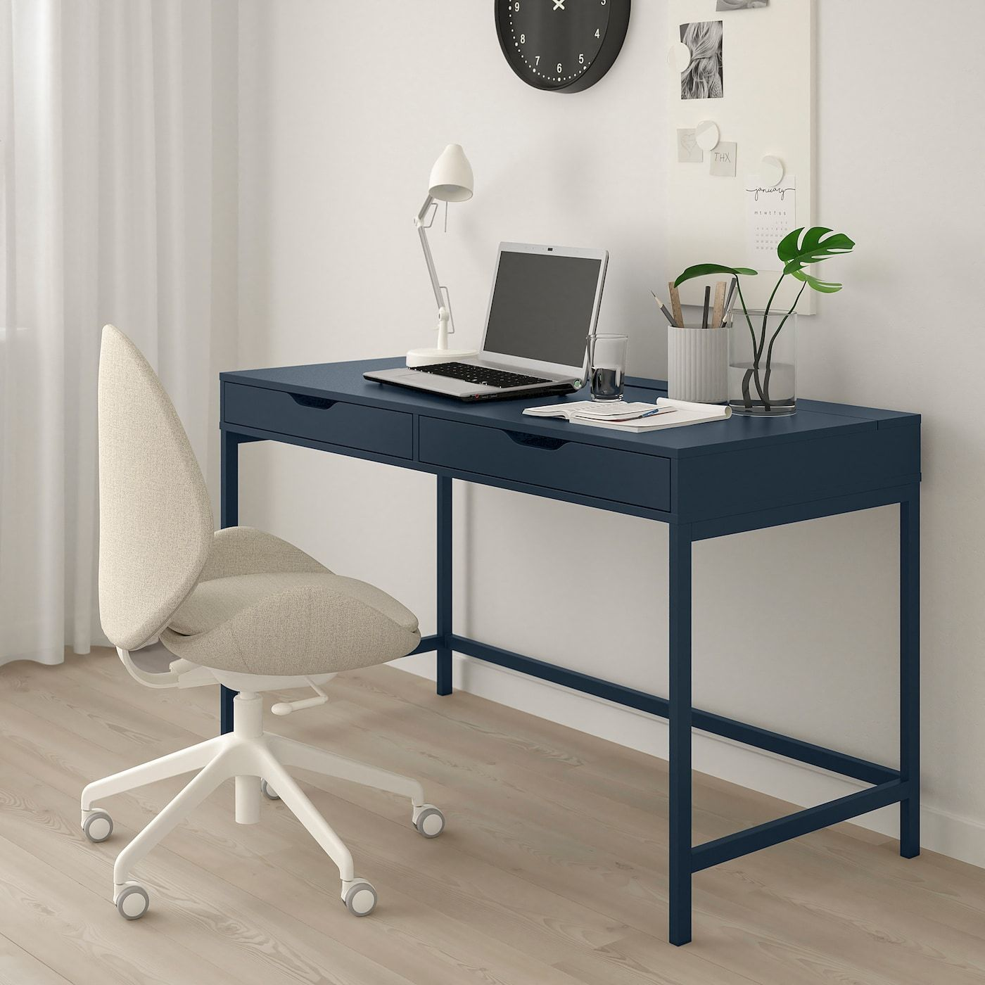 Alex Desk Blue 51 5 8x23 5 8 Ikea Ikea Alex Desk Alex Desk
