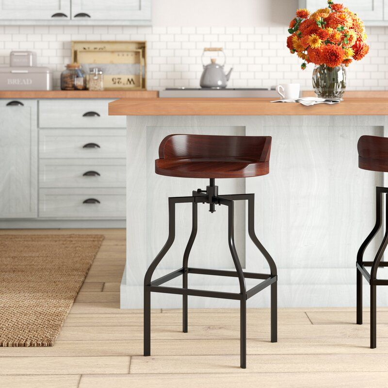 Essonnes adjustable height swivel bar stool reviews