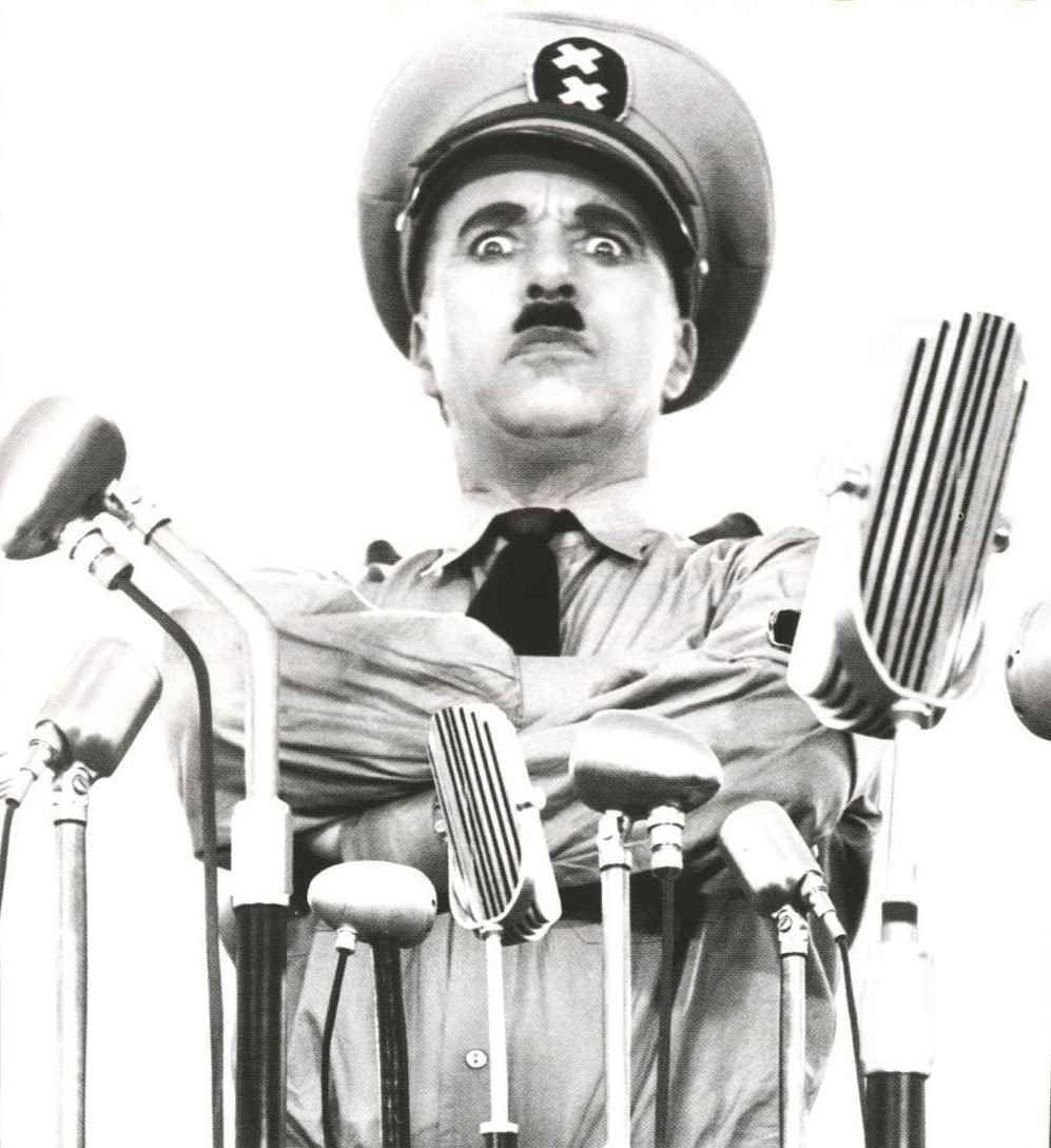 Charlie Chaplin Il grande dittatore
