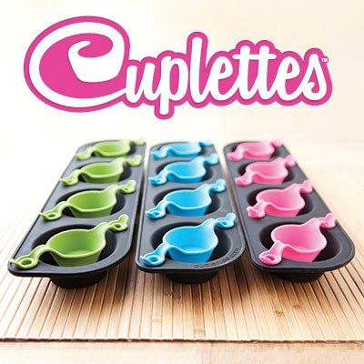 The Smart Baker® Cuplettes Cupcake Pans with Free Recipe Book (Original - 12 Cuplettes) -- Unbelievable offers are coming! : Baking pans