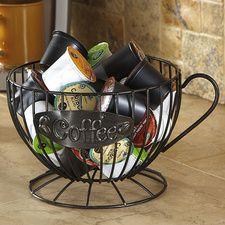 Coffee Pod Holder Modern Kitchen