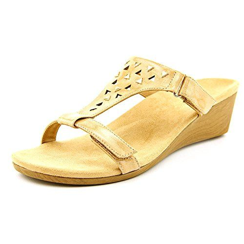 b80645fbe0df Vionic with Orthaheel Technology Womens Maggie Adjustable Wedge Sandal     CONTINUE   http